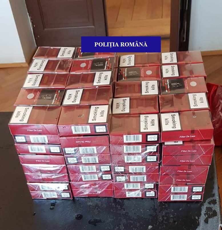 tigarete confiscate Sacueni