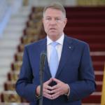 Klaus Iohannis: Starea de urgenta se va prelungi cu inca o luna