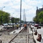 Lucrarile la constructia noii linii de tramvai din Oradea sunt in grafic