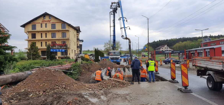 Stadiul lucrărilor de reabilitare a DN76 Oradea-Deva, sectorul Hidiselul de Sus-Oradea