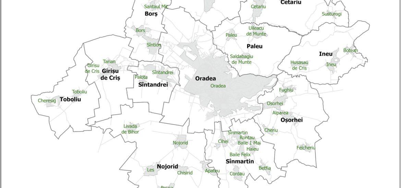 Precizari privind zone metropolitana a Oradiei si localitatile unde nu aveti nevoie de declaratie pe proprie raspundere
