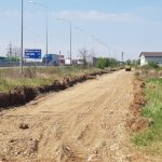 Au inceput lucrarile la drumul colector de langa Centura Oradea. Vezi unde va fi el
