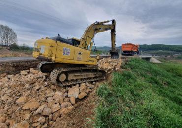 Atentie! Traficul pe DN76 in zona localitatii Hidiselul de Sus va fi deviat. Tiplea: Vrem sa finalizam cat mai repede lucrarile