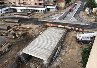 Viceprimarul Birta: Pasajul Magheru si Podul Dacia sunt finalizate in proportie de 85%. Pana la sfasitul lui iulie deschidem circulatia