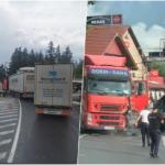 Accident mortal pe DN 1, in apropiere de Piatra Craiului