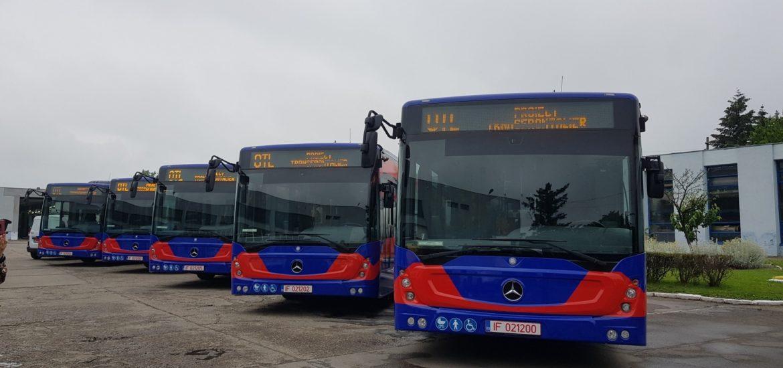 Viceprimarul Malan: Sase autobuze Euro 6, fabricate de Mercedes, vor intra în circulație în zilele următoare după ce vor fi înmatriculate