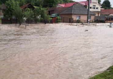Efecte ale codului rosu de inundatii Bihor (VIDEO)