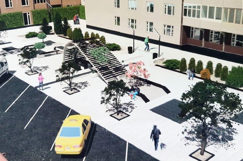 Primaria va construi o piateta pe un teren degradat de pe Blvd. Magheru