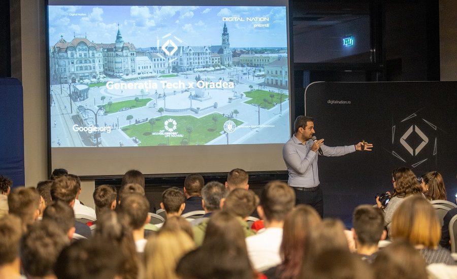 Tinerii orădeni sunt fruntași la digitalizare. Ce a învățat Generația Tech în primul an al proiectului Digital Nation
