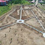 Parcul Soarelui din Oncea va avea aproape trei hectare de gazon şi peste 250 de arbori