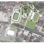Stadion nou si un complex sportiv integrat pe o suprafata de aproape 60.000 de mp, in Oradea