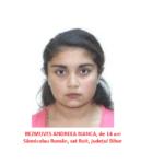 O minora de 14 ani din judetul Bihor este data disparuta de familia ei