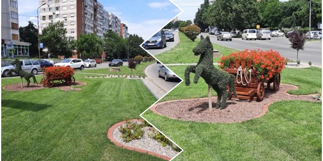 Acord de colaborare în vederea amenajării gratuite a unei zone verzi din intersecția Dacia-Decebal