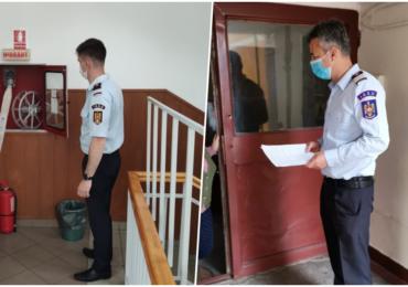 """Controale ISU la firme si institutii din judetul Bihor, avand ca tema """"Apararea impotriva incendiilor"""""""