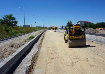 In luna august va fi finalizat un nou drum colector pe langa centura Oradea, fluidizand traficul pe centura
