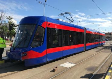 A sosit si al optulea tramvai Imperio, produs de Astra Vagoane Arad, in Oradea. Dupa probe va fi pus in circulatie