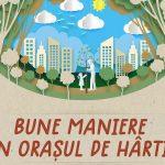 Ateliere de creație pentru copii în Parcul Libertății Bune maniere în Orașul de Hârtie