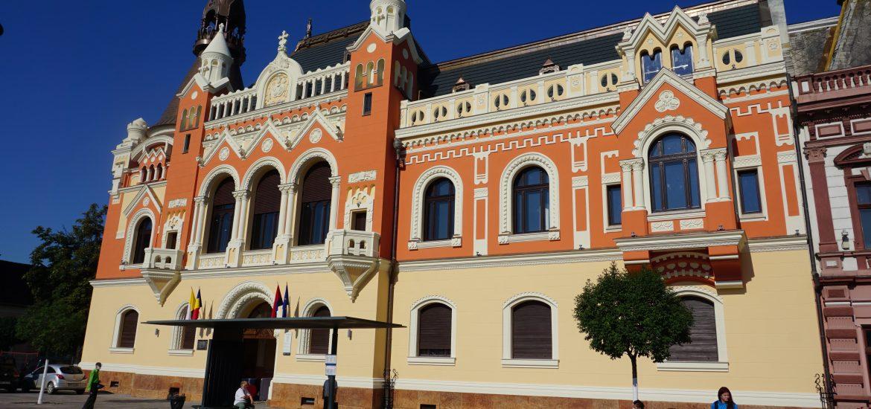 Continua reabilitarea Palatului Episcopal Greco-Catolic din Oradea