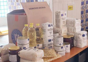 DASO a inceput distributia de produse alimentare si de igiena pentru persoanele defavorizate din Oradea