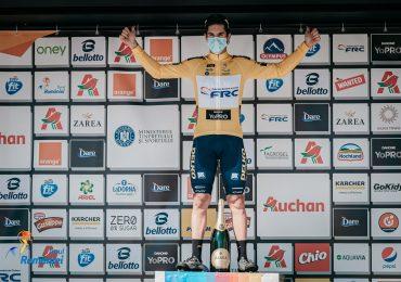 Edi Grosu îmbracă tricoul galben în prima etapă a Turului României