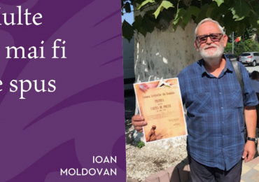 """Ioan Moldovan, directorul revistei """"Familia"""", a primit Premiul pentru Poezie al Uniunii Scriitorilor din România"""