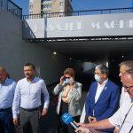 Pasajul subteran de pe bulevardul Magheru a fost deschis în prezența ministrului Fondurilor Europene, Marcel Boloș