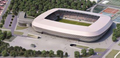 Constructia viitorului Complex Sportiv din Oradea in linia dreapta