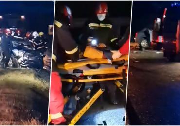 Accident grav langa Diosig. Un barbat a ajuns in stare grava la spital dupa ce masina pe care o conducea s-a izbit frontal cu un TIR
