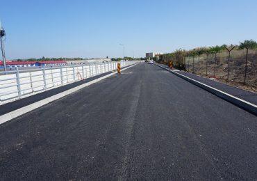 Inca putin! Drumul de legatura Calea Aradului – Centura Oradea se apropie de final. Acesta va decongestiona sensul giratoriu Calea Aradului