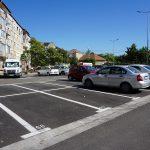Aproape 300 de locuri de parcare de domiciliu au fost amenajate lângă Calea Aradului