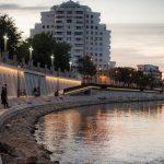 """""""Oradea next level"""".  Un nou spatiu pietonal de relaxare pe malul Crisului Repede"""
