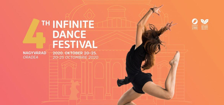 Infinite Dance Festival Oradea 2020, in perioada 20-25 octombrie