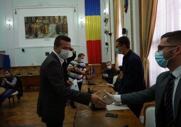 Florin Birta a primit, de la Biroul Electoral Municipal, certificatul doveditor pentru functia de primar al municipiului Oradea