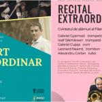 """Două evenimente muzicale de excepție, la Sala Arcadia Academia Națională de Muzică """"Gheorghe Dima"""" pe scena orădeană"""