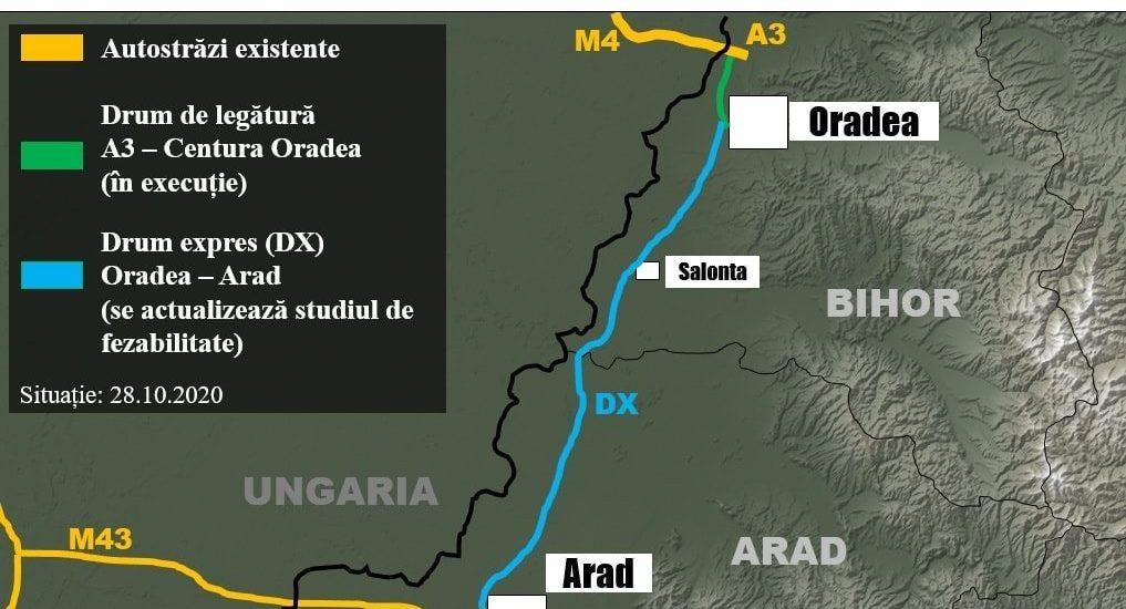 Cinci firme se bat pentru miliardul de euro pentru construirea Drumului Expres Arad-Oradea