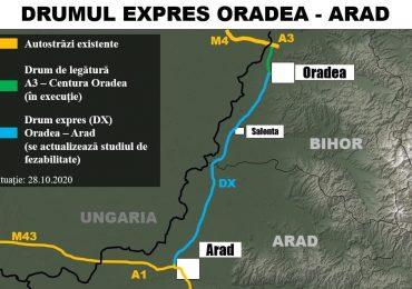 Si incepe! Proiectul de 1 miliard de euro al drumului expres Oradea-Arad a fost scos la licitatie