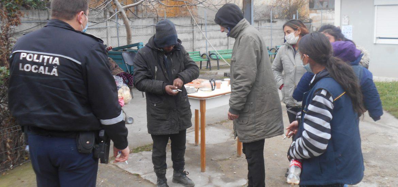 Acțiune comună a Poliției Locale, Poliției Municipiului și a  Serviciul Transporturi Bihor în vederea stopării fenomenului cerșetoriei
