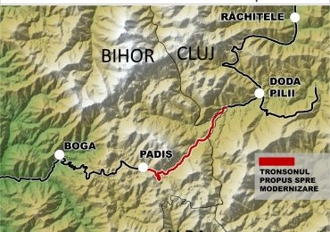 Consiliul Judetean Bihor va moderniza Drumul Judetean din zona Padis