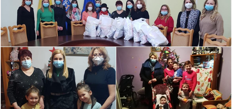 Zâmbete și mici bucurii pentru copii, de la femeile liberale din Oradea
