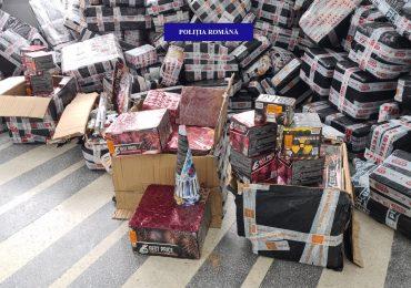 Dosar penal pentru detinerea de material pirotehnic, artificii si petarde, pentru un bihorean