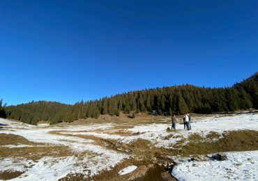 Platoul Glavoi va avea un drum asfaltat si o parcare amenajata, pentru iubitorii de natura