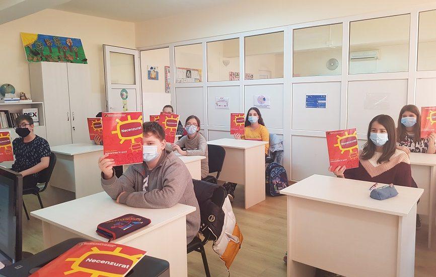 Lectie de preventie pentru copiii Centrului de Ingrijire de Zi din Oradea