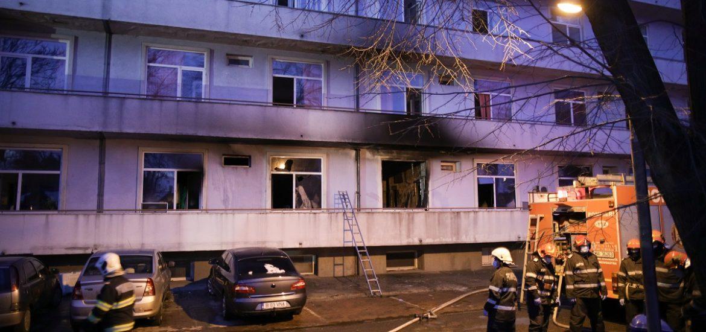 Ard spitalele in Romania. Un nou incendiu la o sectie ATI a unui spital Covid-19 a facut 4 victime