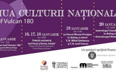 Ziua Culturii Naționale – Iosif Vulcan 180