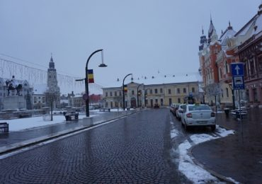 22 de utilaje au actionat in Oradea pentru deszapezirea arterelor