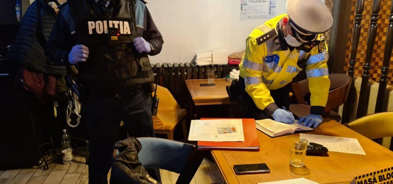 Botez intrerupt de politistii din Salonta. Administratorul localului si participantii sfidau legea
