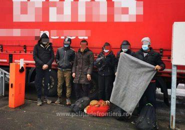 29 cetăţeni din Turcia si Siria ascunşi într-un automarfar, depistați de poliţiştii de frontieră bihoreni