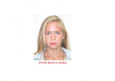 O minora de 16 din localitatea Bistra, judetul Bihor, a iesit din casa noaptea trecuta si nu a mai aparut.
