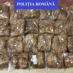 Peste 11 kg. de tutun pentru fumat, fără documente legale, confiscat de polițiștii din Marghita de la un localnic.