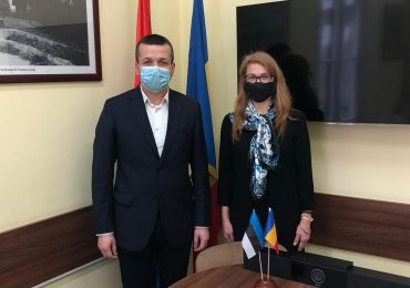 Ambasadorul Estoniei in vizita la Oradea. Tema discutiei: digitalizarea